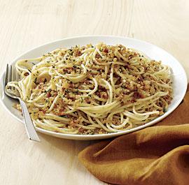 Bread Crumb Spaghetti