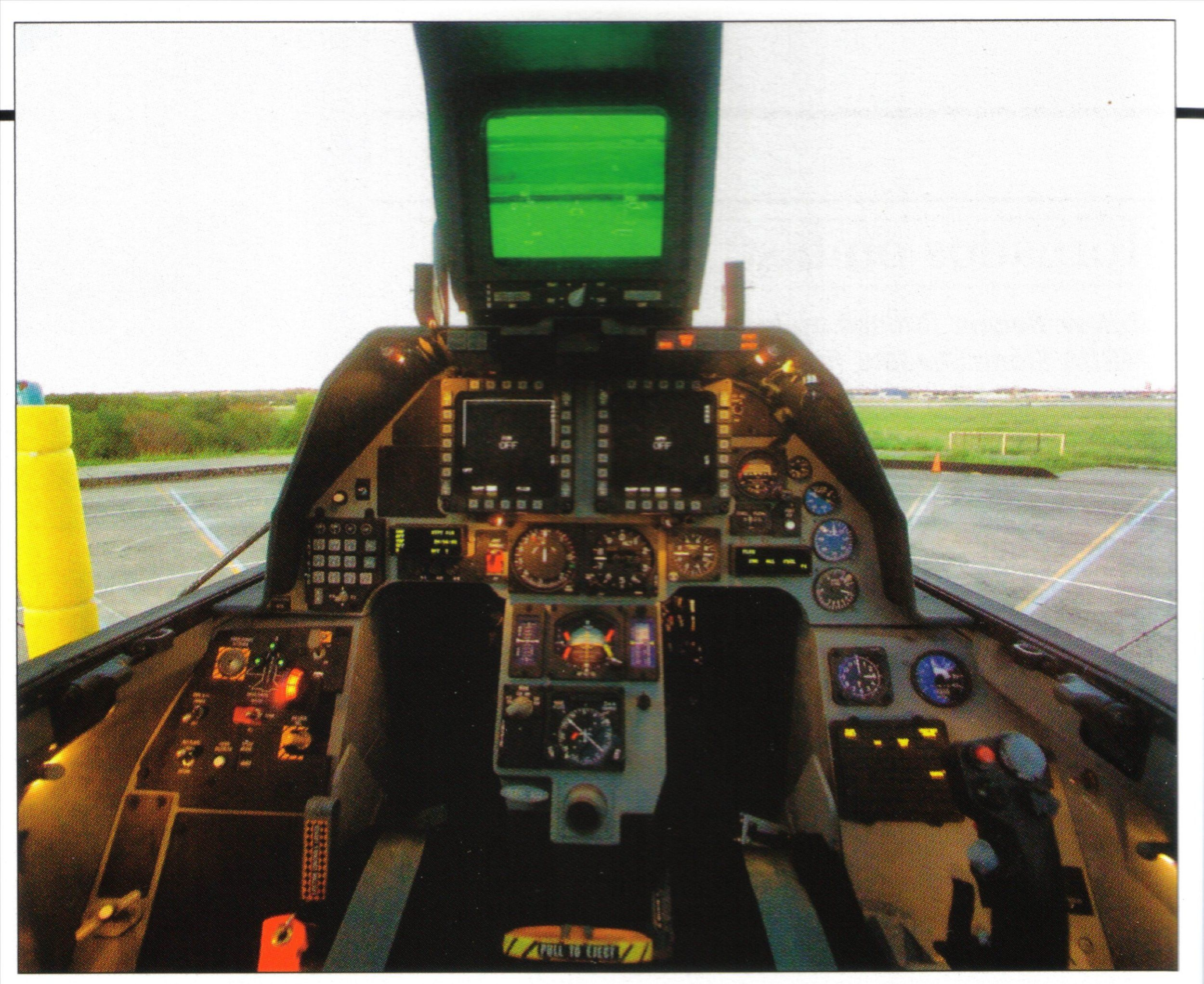 22 Cockpit Model...F 22 Cockpit