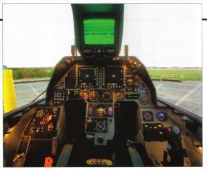 F-16 Rear Cockpit