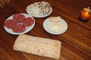 Marsala Burger Ingredients