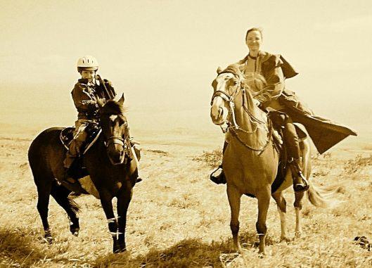 Lisa Horseback
