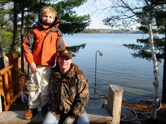 Mac's first hunting trip