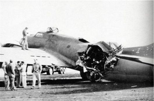 Battle Damage - Photo by WWIIzone.com