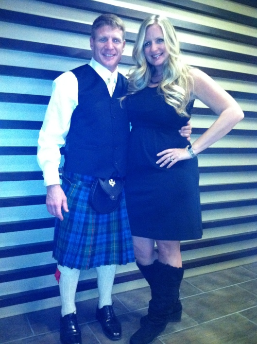 The Raging Scottsman and Rachel Marosko